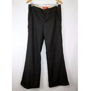 Cartonnier Charcoal Wide Leg Cuffed Trouser Pant